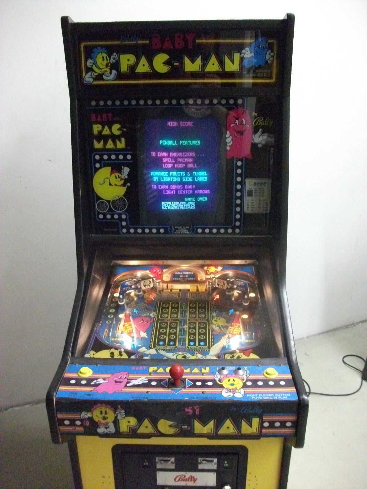 Baby PacMan - Details