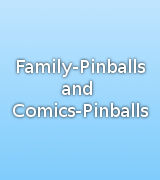 Cartoon & Family Pinballs