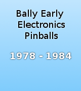 Bally Early Electronics