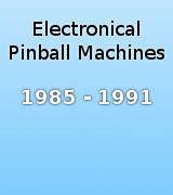 Pinball Machines 1985-1991