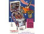 Spirit Of 76 - Pinball