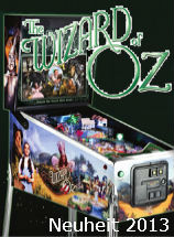 Wizard of Oz Flipperautomat